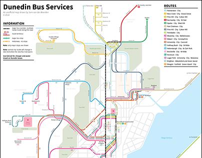 Dunedin Bus Services (2018)