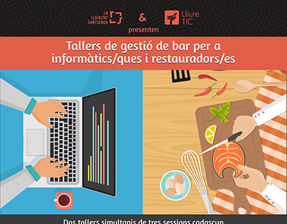 Poster design for Lleialtat Santsenca workshops