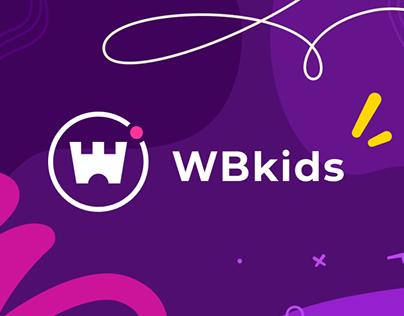 WB kids. Logo & Web