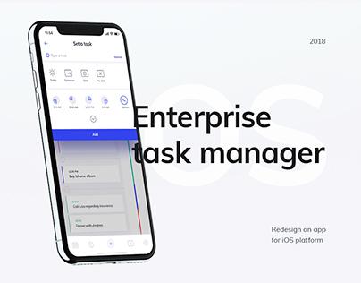 Enterprise app task manager