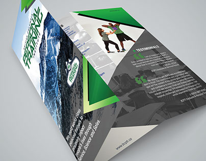 Fitness School Recruitment Brochure and Posters
