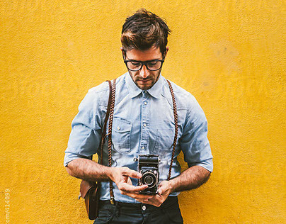 Vintage Photographer | for STOCKSY UNITED