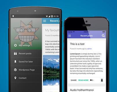 WordpressApp - Wordpress Mobile App