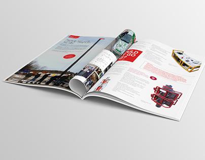 NOV Elmar - Newsletter design