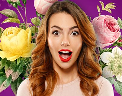 Dermatology & Beauty Clinic creative design ads