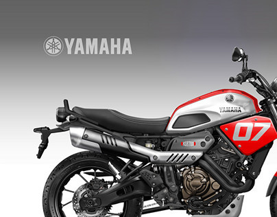 YAMAHA XSR 700 COOLEST BROTHER On Behance