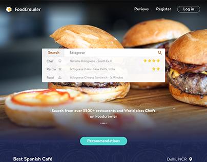 FoodCrawler - A Food Review Website