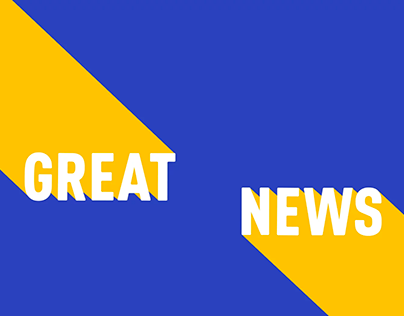 'Great News' - Film & Motion Graphics