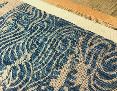 Mizu- Jacquard Weaving