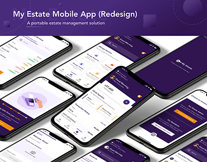 My Estate Mobile App - Redesign