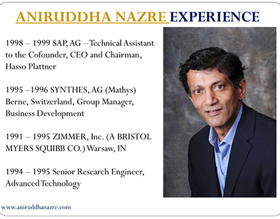 Education And Career of Aniruddha Nazre