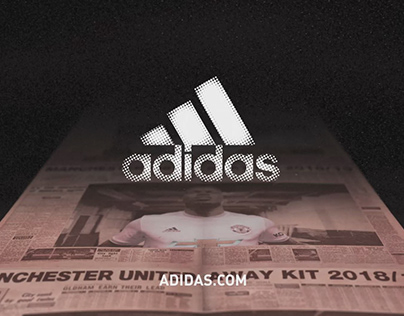 Adidas Pogba - Manchester United 2018/19 Kit