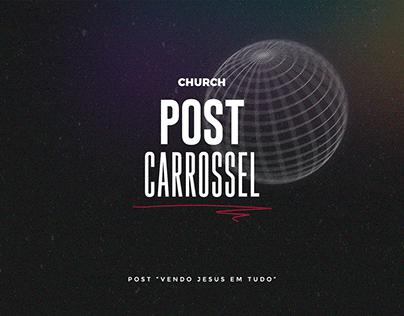 Post Carrossel - Church Lagoinha Patos de Minas