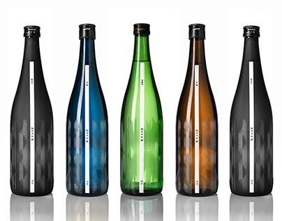 The Sakeraku 丨Bottle Design