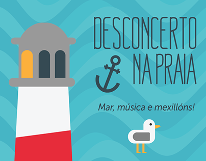 Desconcerto na Praia 2014: concerts poster