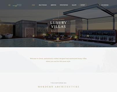 Goldfish Abode website design & development