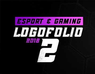 Esport and Gaming Logofolio 2018 V2