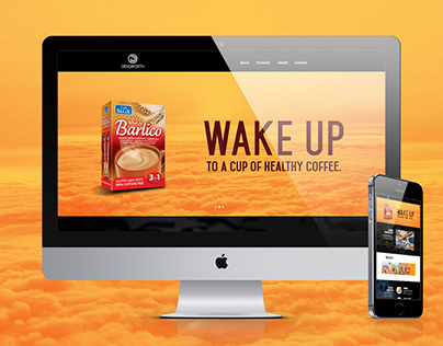 Barlico Web and Mobile site designed as an Art Director