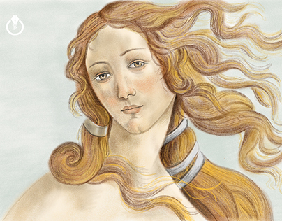 The Birth of Venus - Adobe Photoshop Sketch