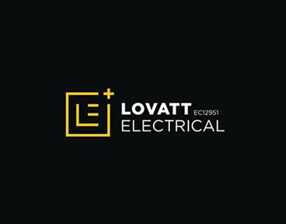 Lovatt Electrical // Brand Design