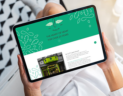 Hemp Company Dublin - Website Redesign