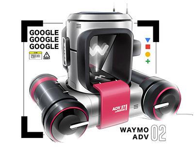 Waymo ADV (ADvertisement Vehicle)