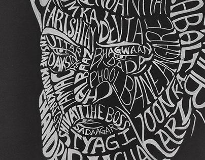 Calligraphic illustration