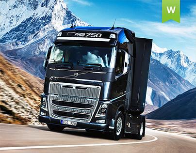 Volvo Trucks Vostok - website design