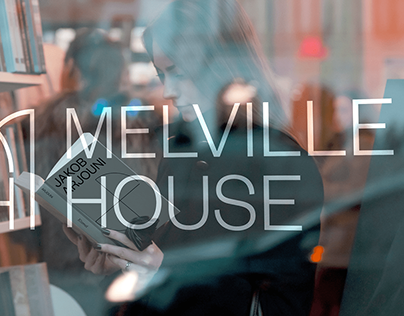 Melville House Publishing Rebrand