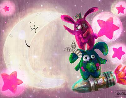 Character design children's books illustrations