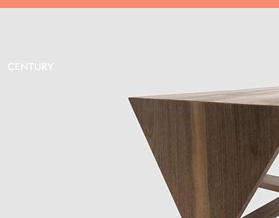 Century   Coffee Table