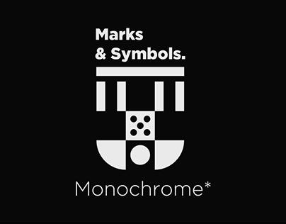 Marks & Symbols Monochrome.