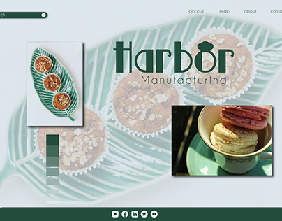 HARBOR ° LOGO VISUAL IDENTITY