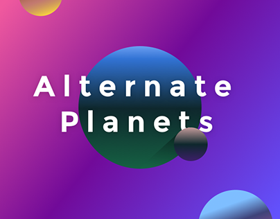 Alternate Planet Series