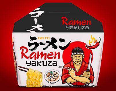Packaging design for ramen