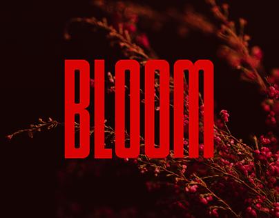 BLOOM | brand identity for flower design studio