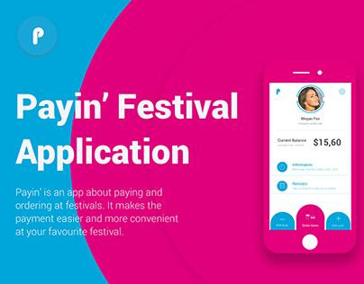 Payin' Festival Application