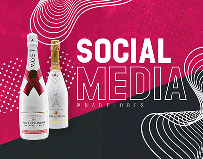 Social Media Design Liquors Store by @Nabflores