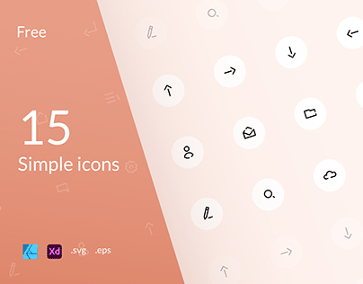 15 simple icons
