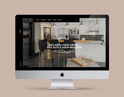 Sandra Lemay Designer d'intérieur - Site Web