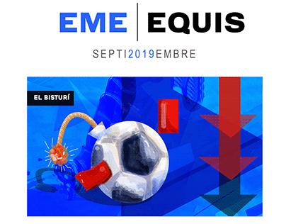 Ilustraciones para el semanario Emeequis-México