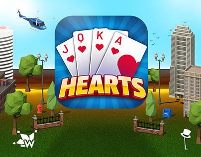 Hearts World Tour - UI/UX Design