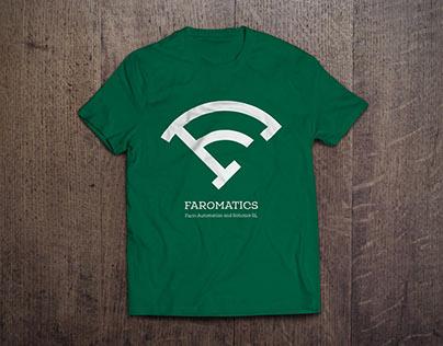 "Logo and Visual identity for ""Faromatics"""