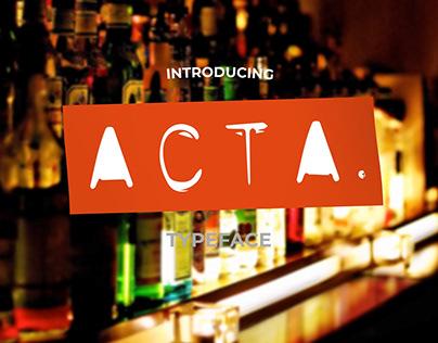 Acta Font