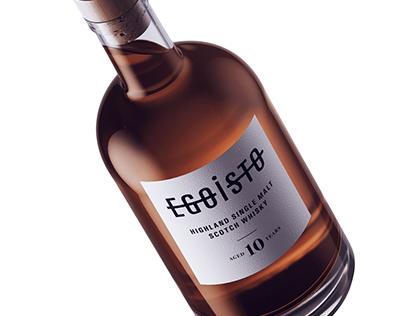 Whisky logo concept