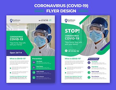 Coronavirus Covid-19 Flyer Design