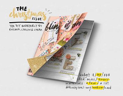 Bling It On | Glitter + Metallic DIY Newsletter