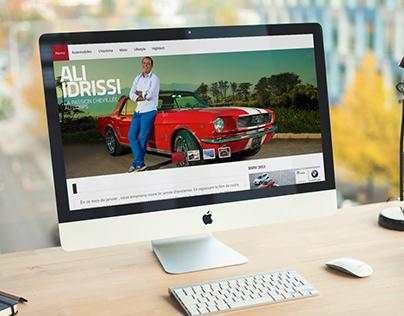 Gentlemen Drivers Magazine Website V1.0