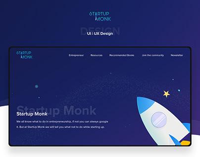 Startup Monk - Concept Design