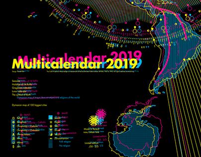 Multicalendar 2019